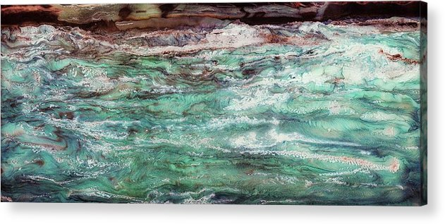 Paul Tokarski Acrylic Print featuring the photograph Costal Tide II by Paul Tokarski
