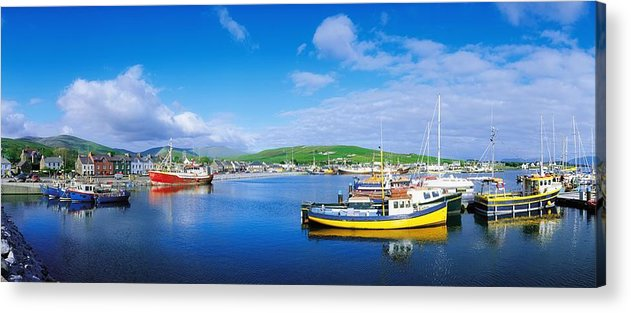 Boat Acrylic Print featuring the photograph Dingle, Dingle Peninsula, Co Kerry by The Irish Image Collection
