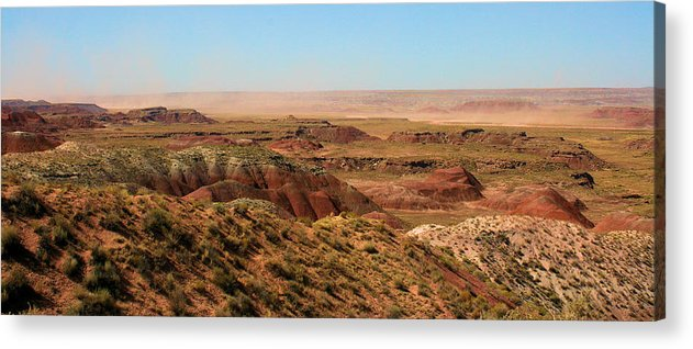 Photography Acrylic Print featuring the photograph Painted Desert 0263 by Sharon Broucek