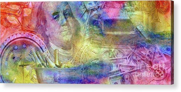 Hustle Acrylic Print featuring the photograph Big Time by Jon Neidert
