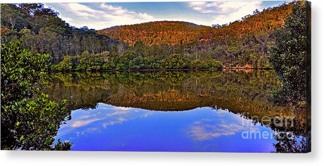 Photography Acrylic Print featuring the photograph Valley Of Peace by Kaye Menner