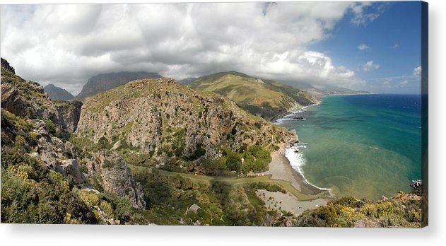 Prevelli Acrylic Print featuring the photograph Prevelli Crete by Robert Lacy