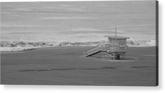 Beaches Acrylic Print featuring the photograph Life Guard Stand by Shari Chavira