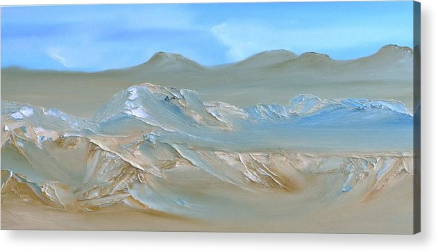 Abstract Acrylic Print featuring the painting Untitled 168 by David Snider