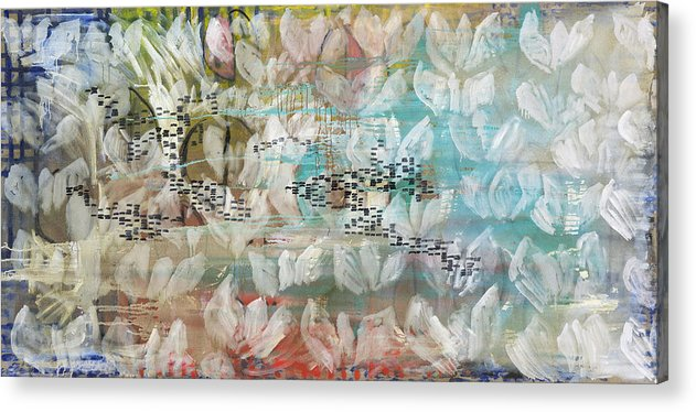 Abstract Acrylic Print featuring the painting Normandie by Joan De Bot