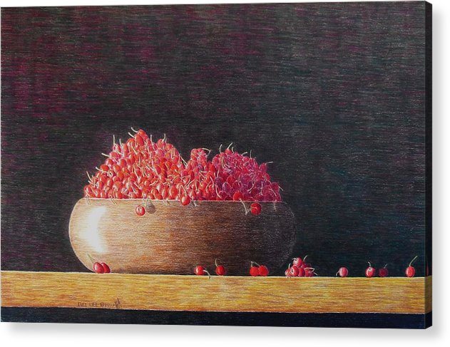 Still Life Acrylic Print featuring the painting Full Life by A Robert Malcom