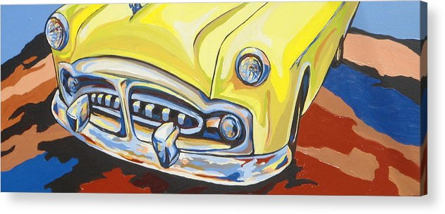 Car Acrylic Print featuring the painting Road Trip by Sandy Tracey