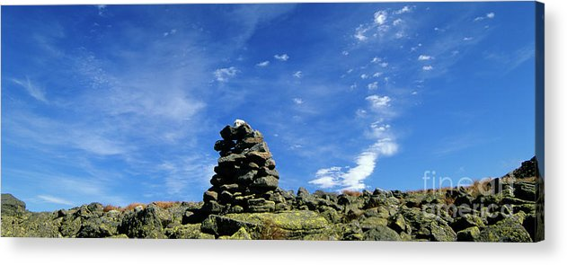 Hike Acrylic Print featuring the photograph Appalachian Trail - White Mountains New Hampshire by Erin Paul Donovan