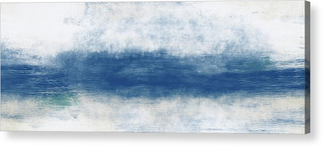 Beach Acrylic Print featuring the mixed media Wide Open Ocean- Art by Linda Woods by Linda Woods