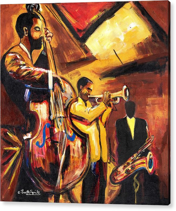 Everett Spruill Acrylic Print featuring the painting Birth Of Cool by Everett Spruill