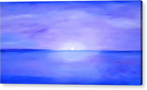 Caribbean Acrylic Print featuring the painting For Rachel by Sula Chance