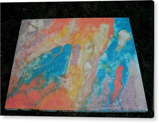 Acrylic Print featuring the painting Untitled by Arthur J Gorham