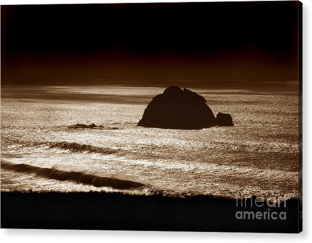 Big Sur Acrylic Print featuring the photograph Drama On Big Sur by Michael Ziegler