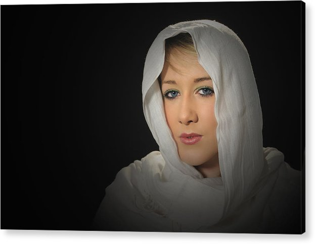 Girl Acrylic Print featuring the photograph Holly by Jon Daly
