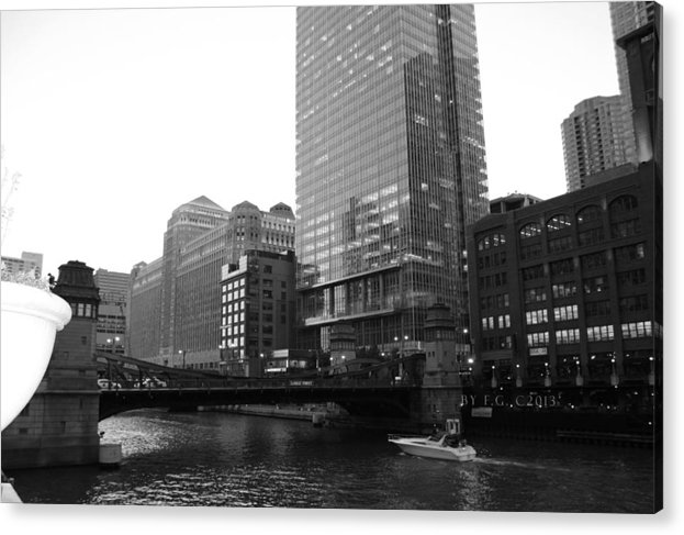 Chicago Acrylic Print featuring the photograph Chicago 6-7-13 Canon T3 First1 by Frank G