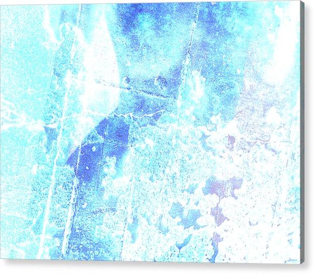 Nude Acrylic Print featuring the digital art Venicia by Su Ferguson - Don Burkheimer