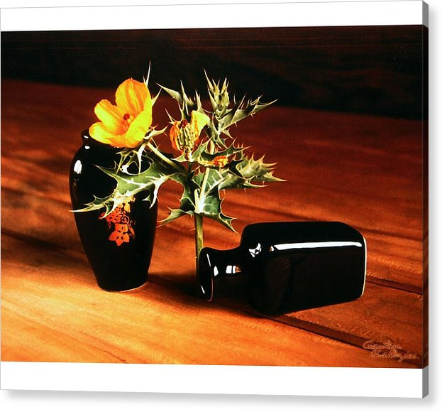 Vase Acrylic Print featuring the photograph Still Life - 3 by Gautam Chatterjee