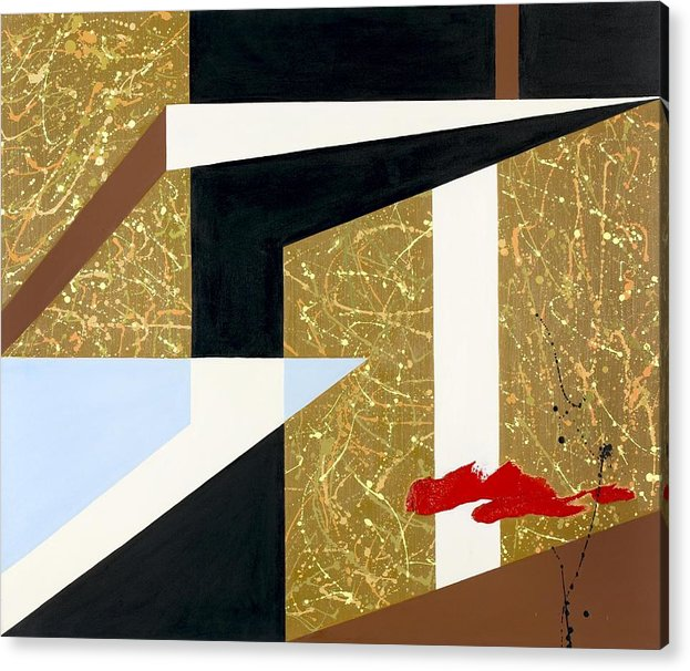 Abstract Acrylic Print featuring the painting Morning Harmony II by Ara Elena