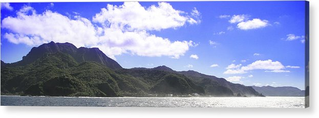 Landscape Acrylic Print featuring the photograph America Samoa by Wes Shinn