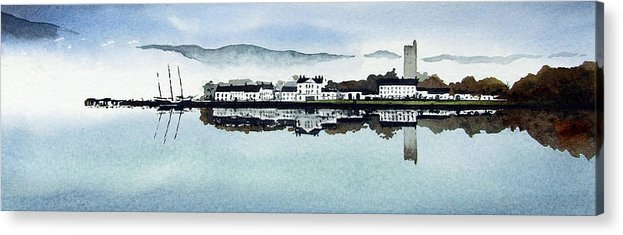 Scotland Acrylic Print featuring the painting Inverary by Paul Dene Marlor