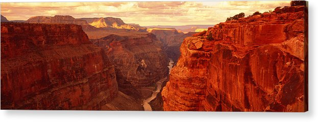 Photography Acrylic Print featuring the photograph Toroweap Point, Grand Canyon, Arizona by Panoramic Images