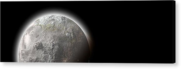 Moon Acrylic Print featuring the photograph Moon by FL collection