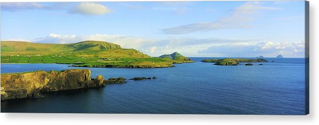 Calm Acrylic Print featuring the photograph Co Kerry, Ireland Landscape From by The Irish Image Collection