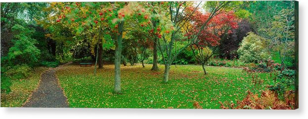 Gardens Acrylic Print featuring the photograph Irish Gardens by The Irish Image Collection