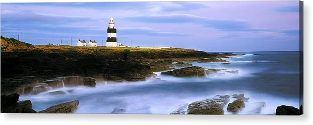 Outdoors Acrylic Print featuring the photograph Hook Head Lighthouse, Co Wexford by The Irish Image Collection