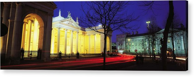 Bank Of Ireland Acrylic Print featuring the photograph Bank Of Ireland, College Green, Dublin by The Irish Image Collection