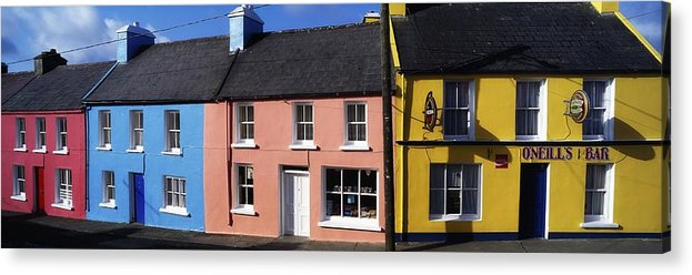 Architecture Acrylic Print featuring the photograph Eyries Village, West Cork, Ireland by The Irish Image Collection
