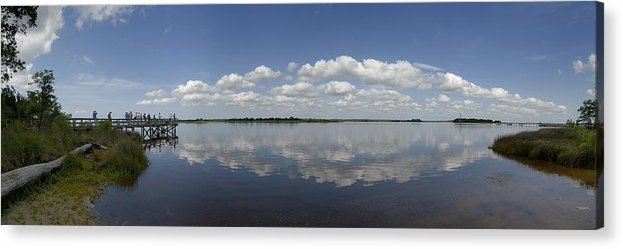 Cape Fear River Acrylic Print featuring the photograph Cape Fear River by Ed Zirkle
