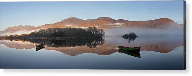 County Kerry Acrylic Print featuring the photograph Enjoy The Silence by Hubert Leszczynski