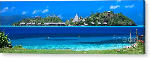 Tropical Acrylic Print featuring the photograph Tropical Views, by Ryan Ware