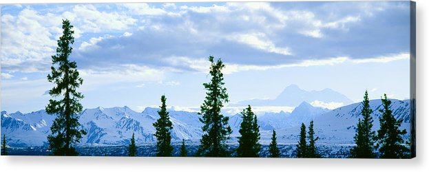 Photography Acrylic Print featuring the photograph Mount Mckinley, Alaska by Panoramic Images
