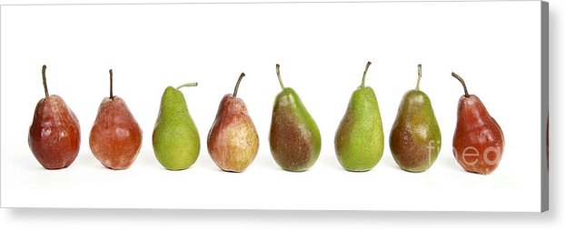 Food And Drink Acrylic Print featuring the photograph Pears by Bernard Jaubert