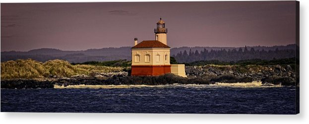 Bandon Acrylic Print featuring the photograph By The Light by Image Takers Photography LLC - Laura Morgan