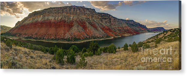 Sheep Creek Acrylic Print featuring the photograph Sheep Creek Utah by Abe Pacana