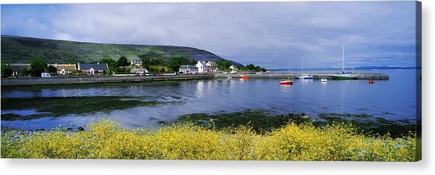 Ballyvaughan Acrylic Print featuring the photograph Ballyvaughan, Co Clare, Ireland Small by The Irish Image Collection