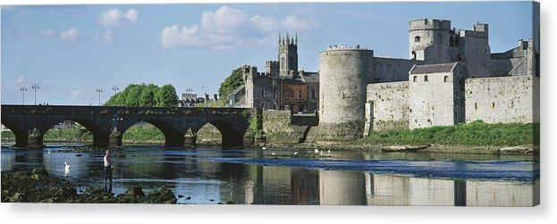 Attraction Acrylic Print featuring the photograph Castles, St Johns Castle, Co Limerick by The Irish Image Collection