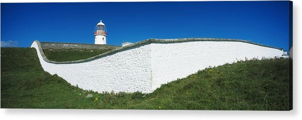 Color Acrylic Print featuring the photograph Lighthouse At St Johns Point, Donegal by The Irish Image Collection