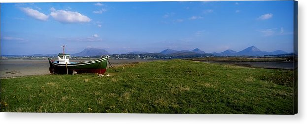 Coast Acrylic Print featuring the photograph Trawler At Magheraroarty, Co Donegal by The Irish Image Collection