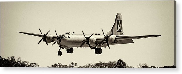 Wwii Acrylic Print featuring the photograph Boeing B29 by Chris Smith