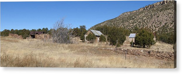 Old House Photo Acrylic Print featuring the photograph Three Generations by James Granberry