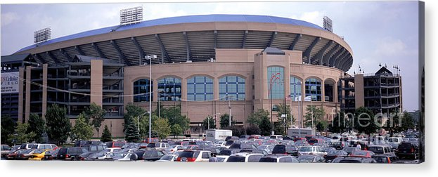 Viewpoint Acrylic Print featuring the photograph Indians V White Sox by Jerry Driendl
