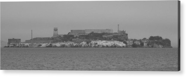 Alcatraz Acrylic Print featuring the photograph Alcatraz by Jim Georgiana