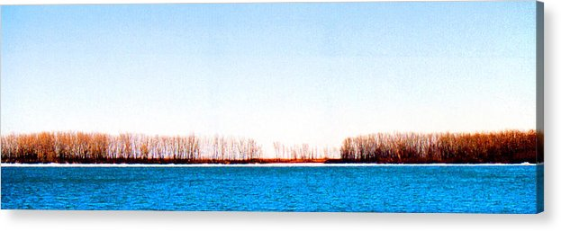 Landscape Acrylic Print featuring the photograph Leslie Spit From Cherry Beach 33 Dbae by Lyle Crump