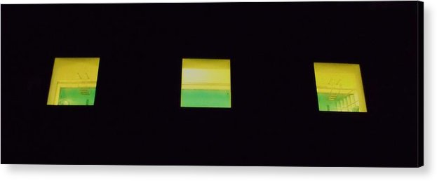 View Acrylic Print featuring the photograph A Dip In The Pool I by Anna Villarreal Garbis