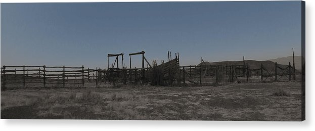 Corral Acrylic Print featuring the photograph The Corral by Cathy Anderson