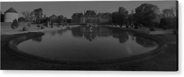 Castle Acrylic Print featuring the photograph Chateau De Breteuil Dh 1 by Wessel Woortman